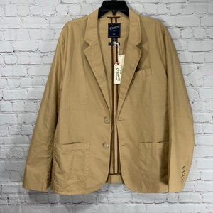 Grayers Khaki Front Two Button Notch Lapel Blazer